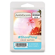 image of AmbiEscents™ #ShoreThing 6-Pack Scented Wax Cubes