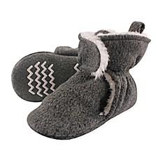image of Hudson Baby Sherpa Lined Scooties in Heather Charcoal