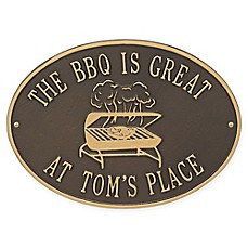 image of Whitehall Products Grill Indoor/Outdoor Wall Plaque