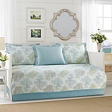 image of Laura Ashley® Saltwater Daybed Set in Blue