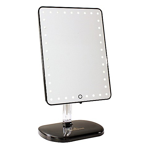 Impressions Vanity Pro Iv Touch Led Makeup Mirror Bed