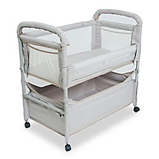image of Arm's Reach® Clear-Vue™ Co-Sleeper® with Deep Basket in Grey