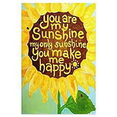 image of Marmont Hill Sunshine Flower II Canvas Wall Art