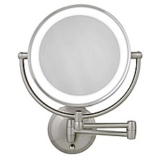 image of Zadro™ Next Generation LED 1x/10x Magnification Wall Mount Mirror