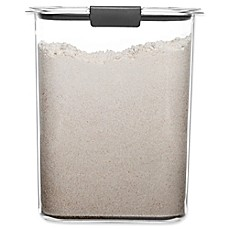image of Rubbermaid Brilliance 16-Cup Flour Dry Storage Container