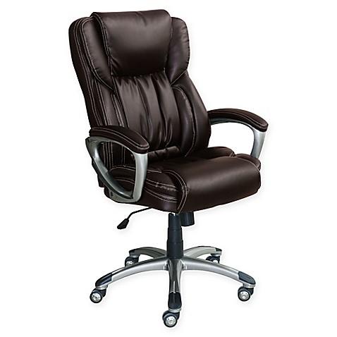 Sertau0026reg; Works Bonded Leather Executive Chair