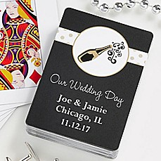 image of Champagne Toast 54-Count Playing Cards