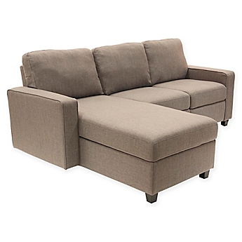 Image Of Serta Palisades Left Facing Reclining Sectional Sofa With Storage