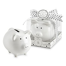 image of Kate Aspen® Piggy Bank Baby Favor