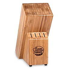 Marvelous Image Of Culinary Institute Of America® Masteru0027s Collection® 10 Slot Bamboo Knife  Block