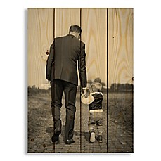 image of Designs Direct Photo Upload 14-Inch x 20-Inch Pallet Wood Wall Art