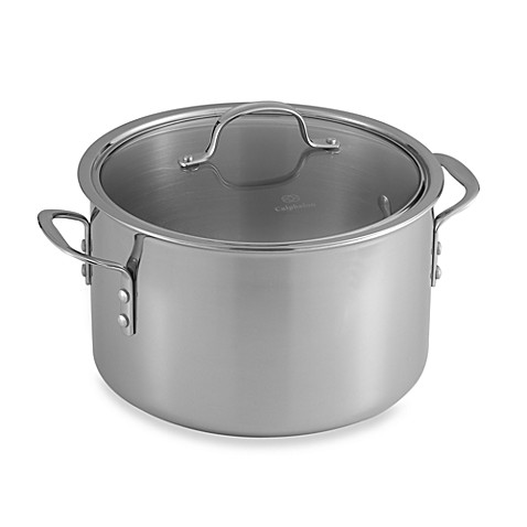 triply stainless steel 8 qt - Calphalon Tri Ply Stainless Steel