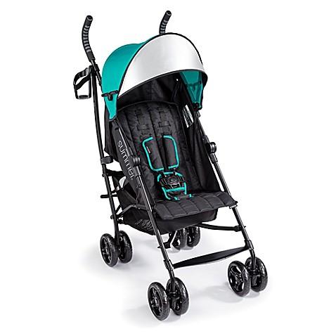 Summer Infant 174 3d Lite Convenience Stroller In Teal Bed