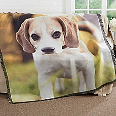 image of Picture It! Pet Woven Throw Blanket