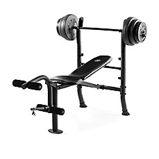 image of Gold's Gym® XR 8.1 Combo Bench with 100 lb. Weight Set in Black