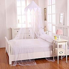 image of Casablanca Kids Harlequin Bed Canopy & Bed Canopies u0026 Mosquito Nets - Bed Bath u0026 Beyond