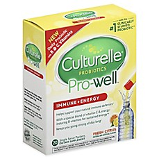 image of Culturelle® 20 Pro-Well® Immune + Energy Packets in Fresh Citrus