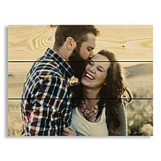 image of Designs Direct Photo Upload 14-Inch x 10.5-Inch Pallet Wood Wall Art