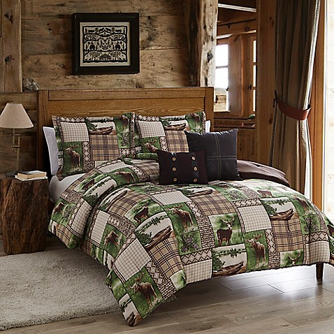 Seneca Lake Comforter Set In Brown Green Bed Bath Amp Beyond