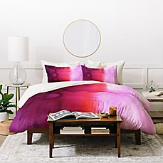 image of Deny Designs Amy Sia Ombre Duvet Cover Set