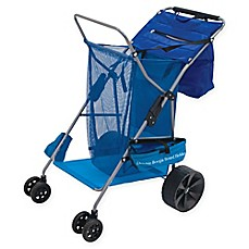 image of Rio Beach Deluxe Beach Caddy in Blue