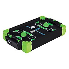image of Franklin® Sports Glomax 20-Inch Zero Gravity Air Hockey in Black/Green