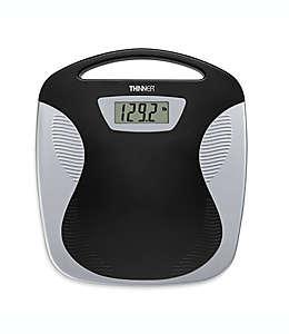 Báscula digital portátil Thinner® Conair® en negro/plata