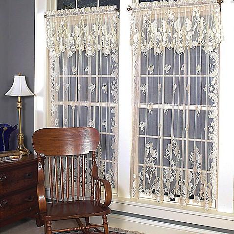 Heritage Lace 174 Windsor Rod Pocket Window Curtain Panels