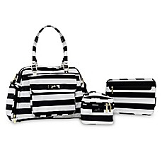 image of Ju-Ju-Be® Be Pumped The First Lady Pump Bag in Black/White