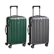 image of DELSEY PARIS Chromium Lite 21-Inch Expandable Carry On Spinner Suitcase
