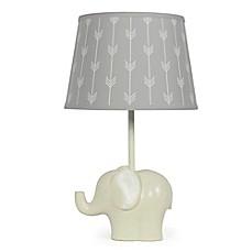 Image Of The Peanut Shell® Elephant Grey Arrows Lamp