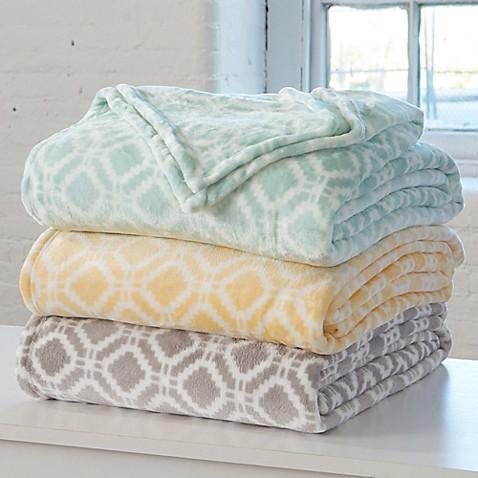 Great Bay Home Liliana Ultra Plush Blanket Bed Bath Amp Beyond