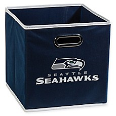 image of nfl seattle seahawks collapsible storage bin
