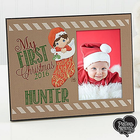 Precious Moments Stocking Christmas Picture Frame Bed Bath Beyond