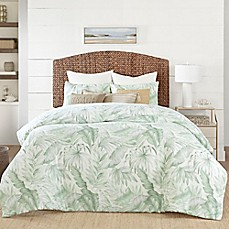 image of Coastal Living® Green Palm Reversible Comforter Set