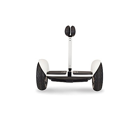 segway minilite self balancing scooter in white bed. Black Bedroom Furniture Sets. Home Design Ideas
