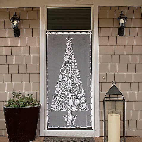 Heritage Lace 174 Christmas Tree 76 Inch Rod Pocket Window