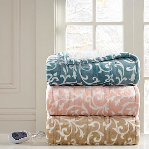 Beautyrest Adelynn Heated Snuggle Wrap Bed Bath Amp Beyond