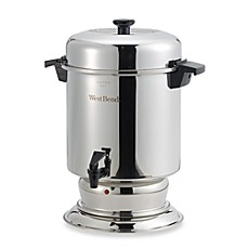 image of West Bend® 55-Cup Commercial Stainless Steel Coffee Urn