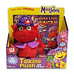 image of The Moodsters™ Talking Razzy Plush Toy with Activity Book