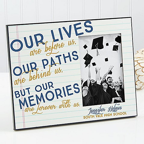 Memories Are Forever Graduation Picture Frame - Bed Bath & Beyond