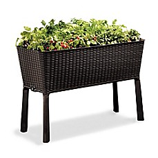 image of Keter Elevated Garden Bed in Brown