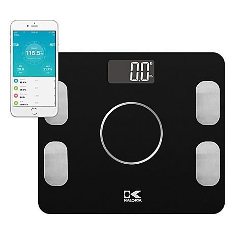 Kalorik Electronic Body Fat Scale With Ysis In Black