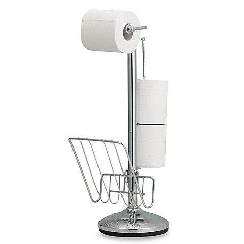 Toilet Paper Stand and Reserve Holder - Bed Bath u0026 Beyond
