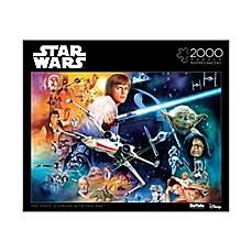 image of Buffalo Games™ 2000-Piece Star Wars™ The Force is Strong with this One Puzzle