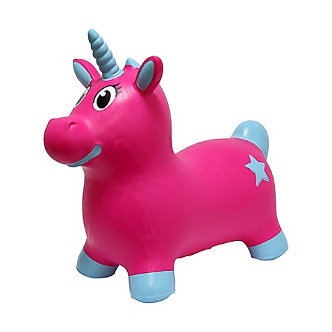 Megafun Usa Jumpets Bouncer Luna The Unicorn In Pink