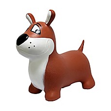 image of MegaFun USA JumPets Bouncer Buster the Dog in Brown