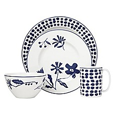 image of kate spade new york Spring Street™ Cobalt Dinnerware Collection