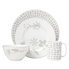 image of kate spade new york Spring Street™ Flax Dinnerware Collection