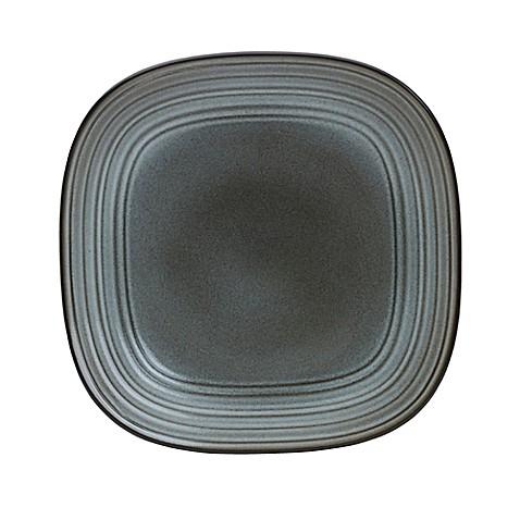 Mikasa® Swirl Speckle Square Dinner Plate in Graphite - Bed Bath ...